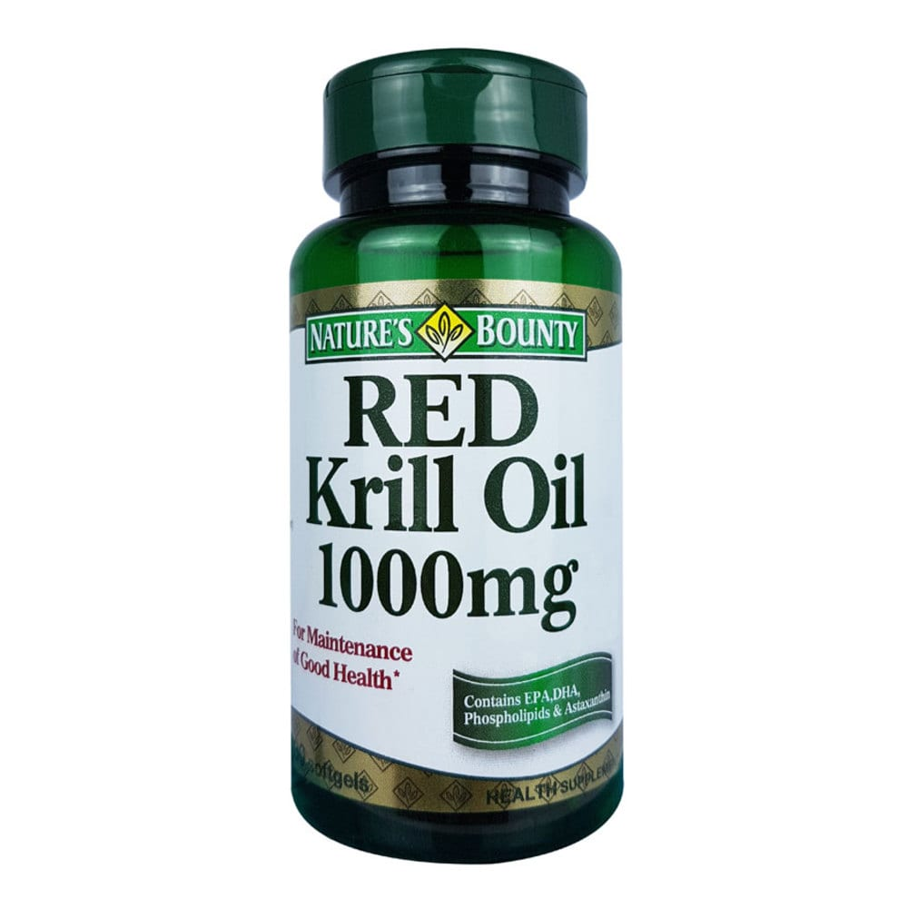 Nature's Bounty Red Krill Oil 1000mg 30's