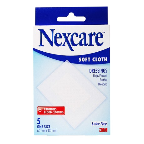 Nexcare Soft Cloth Dressing 5's