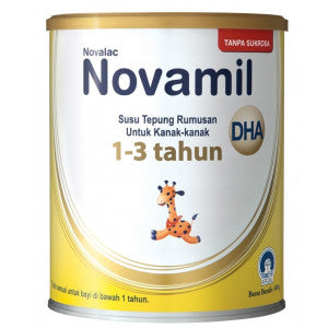 Novalac Novamil DHA Growing Up Formula 800g 1-3 tahun