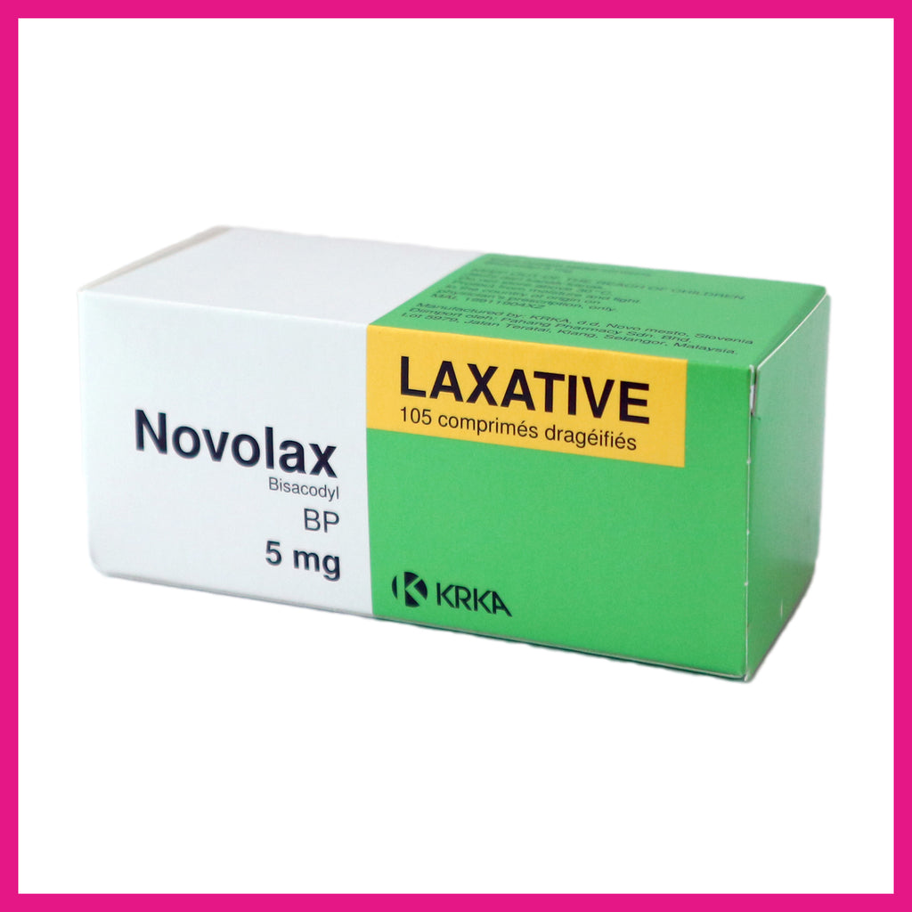 Novolax Laxative 5mg 7x15's