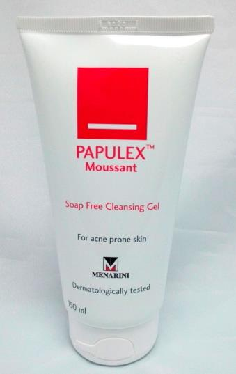 Papulex Moussant Soap Free Cleansing Gel 150ml