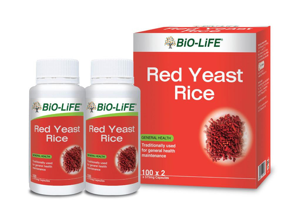 BIO-LIFE RED YEAST RICE 2X100'S