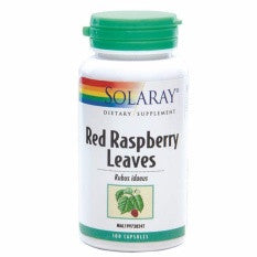 SOLARAY RED RASPBERRY LEAVES 100'S