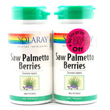 SOLARAY SAW PALMETTO BERRIES 2*100S