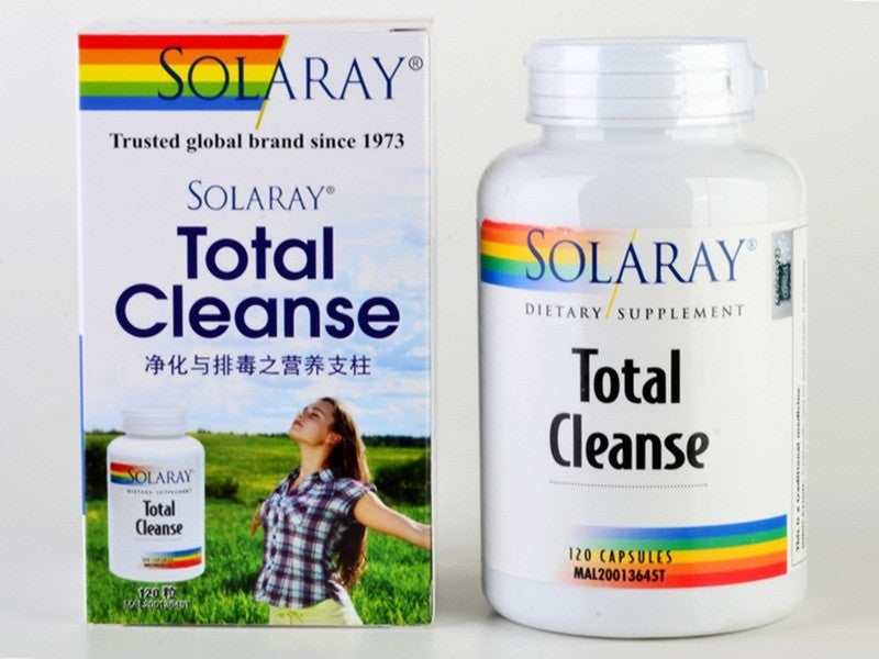 SOLARAY TOTAL CLEANSE 120'S