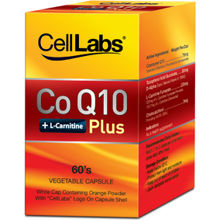 CELLLABS CoQ10+1-Carnitine Plus 60's