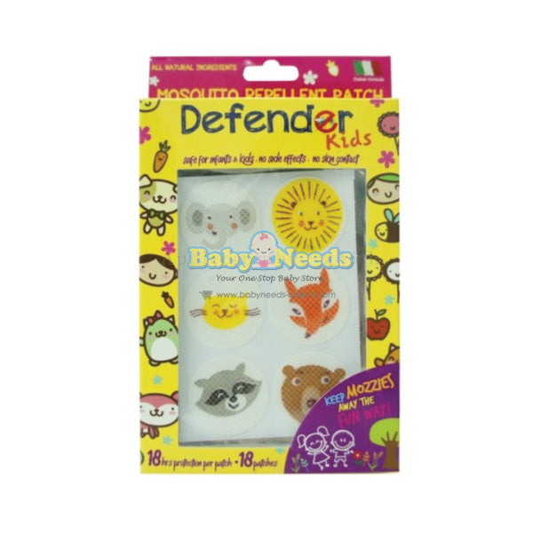 Defender Kids : Anti Mosquito Patch (18 pcs)