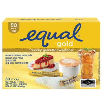 Equal Gold Sticks 50's