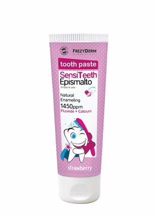 Frezyderm Tooth Paste Sensi Teeth Epismalto (STRAWBERRY) 50ml