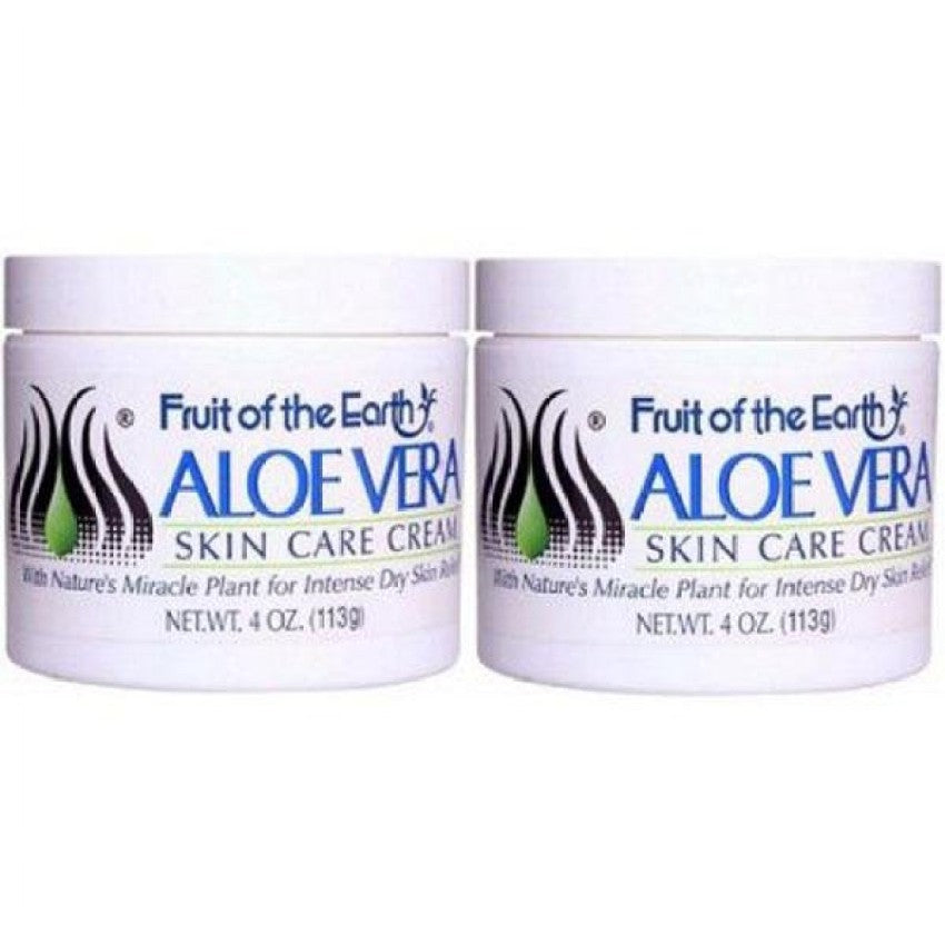 Fruit of the Earth Aloe Vera Skin Care Cream 2 x 113g