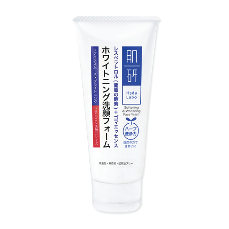 Hada Labo Softening & Whitening Facial Wash 100g
