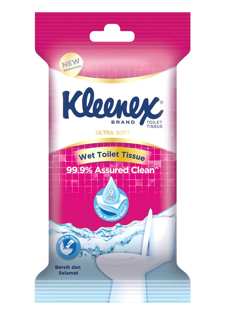 Kleenex Wet Toilet Tissue 3x10s