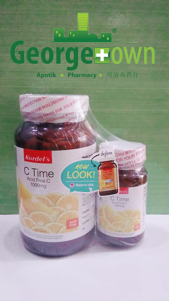 Kordel's C Time Acid Free C 1000mg 150s+30s