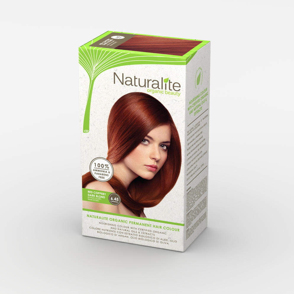 Naturalite Hair Colour Red Coppery 6.45