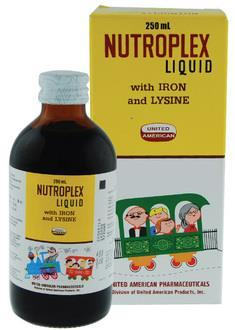 NUTROPLEX LIQUID WITH IRON 120ML
