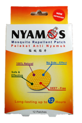 Nyamos Repellent Patch 12 patches