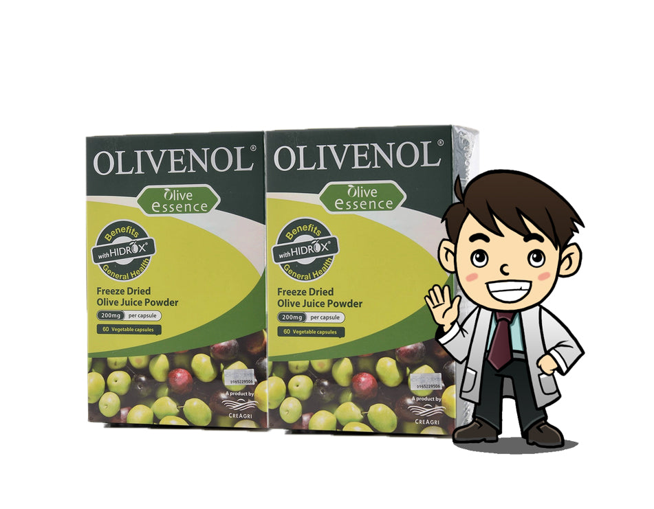 OLIVENOL ESSENCE CAPSULES 60's X2  (twin pack)