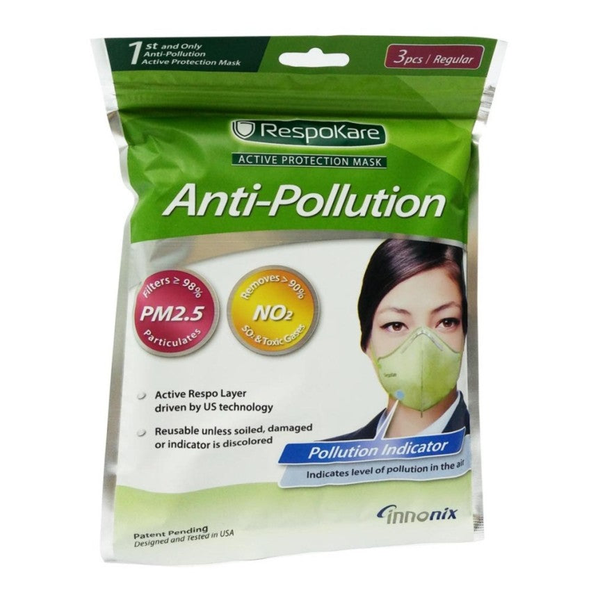 Anti-Pollution Face Mask 3's adult