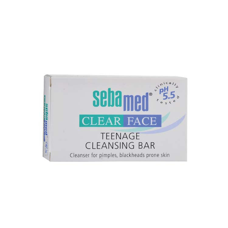 Sebamed Clear Face Teenage Cleansing Bar 100g