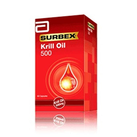 Abbott Surbex Krill Oil 500mg 60's