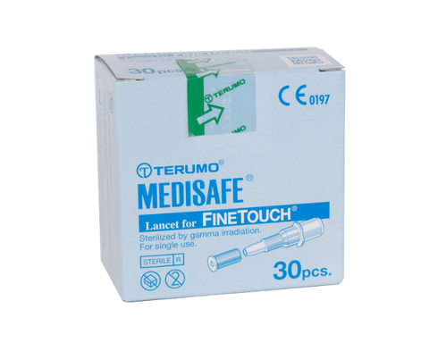 Terumo Medisafe Finetouch Lancets 30's