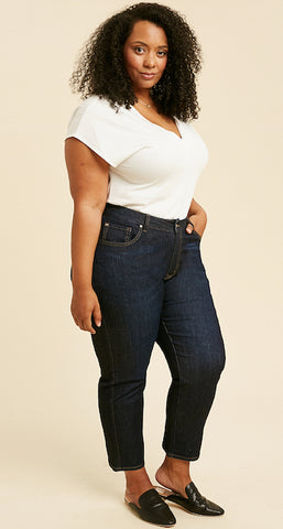 best custom plus size jeans for women