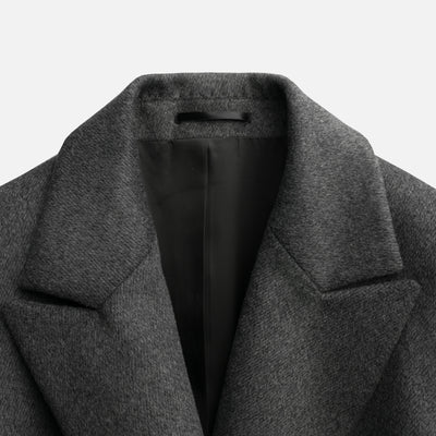 Sene - The Montmartre Coat in Gray Wool Cashmere Blend