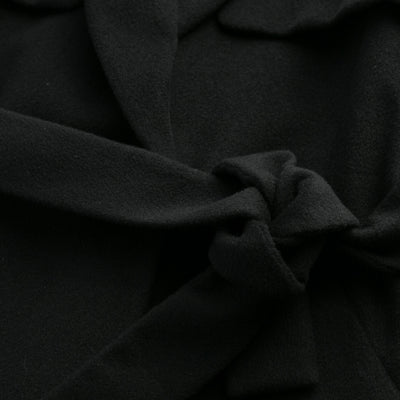 Sene - The Montmartre Coat in Black Wool Cashmere Blend 95-5