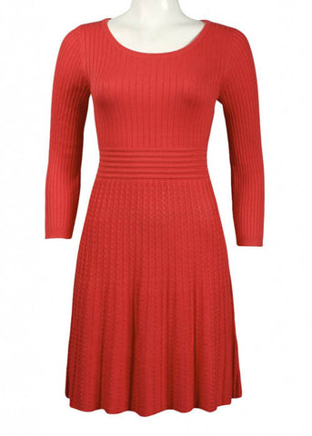 Spense Women's Cable Knit Dress Sz L, XL