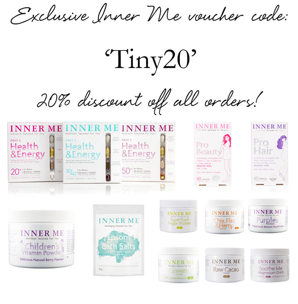 Tiny Fish x Inner Me discount code