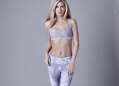 Tiny Fish Co | Tyler White Legging and Sway Activewear Bra