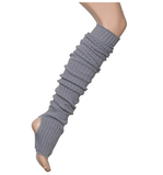 Super long Stir-Up Leg Warmers: Grey