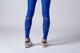 Atlanta| Mesh Cut-Out Legging | Royal Blue
