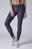 Atlanta | Mesh Cut-Out Legging | Titanium