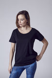 Bleeker Loose Boxy Tee | Black