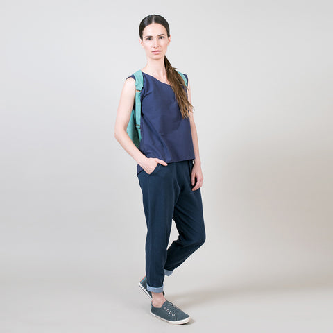 Capri cotton pants