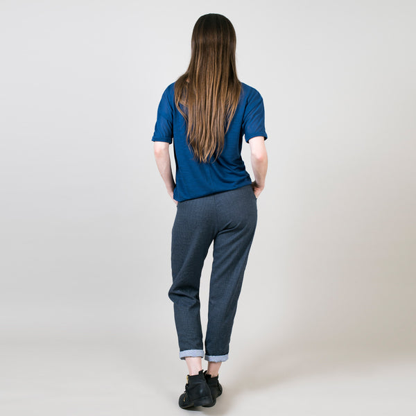 Capri wool pants