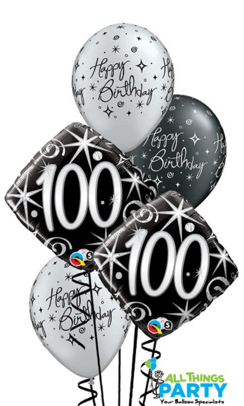 100th Birthday Balloons