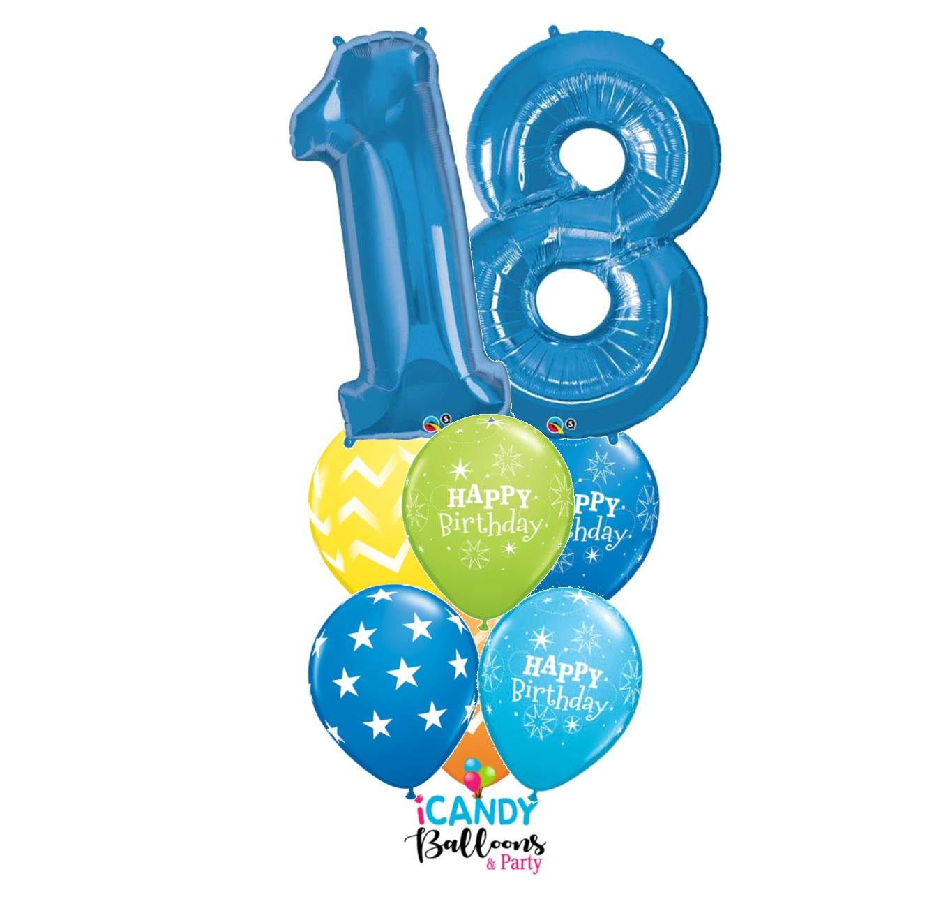18th Birthday Gift Balloon Bouquets