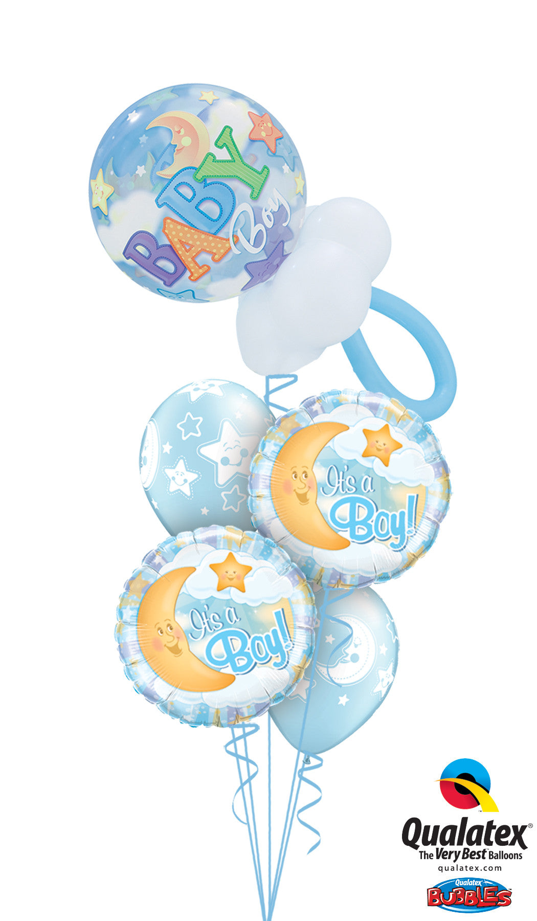 Baby Boy Gift Balloon Bouquets- Wollongong Deliveries