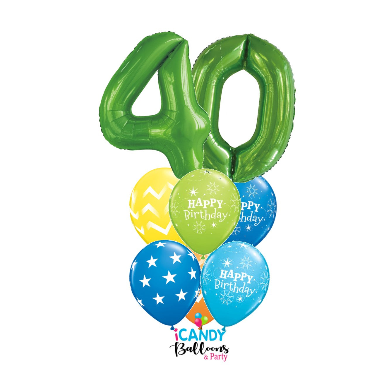 40th Birthday Balloons & Party Supplies