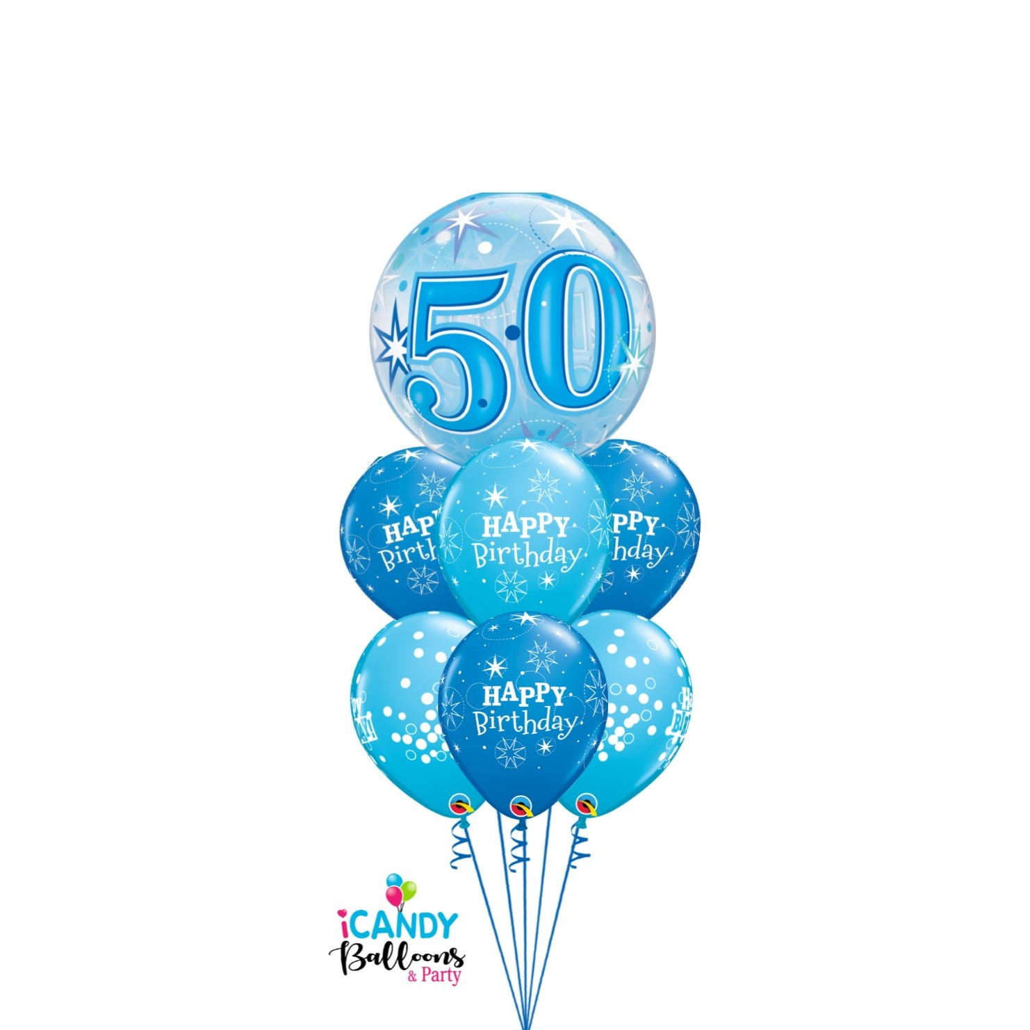 50th Birthday Balloons & Party Supplies