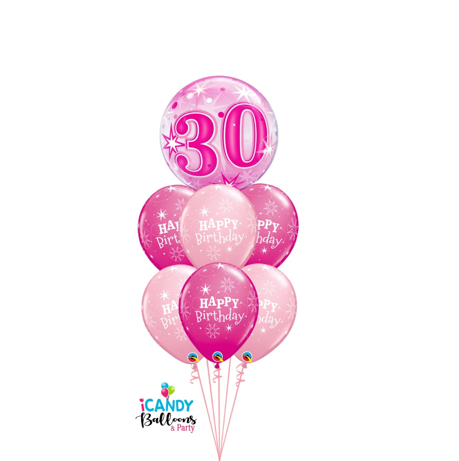 30th Birthday Balloons & Party Supplies