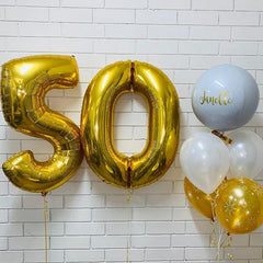 Number & Letter Foil Balloon Collections