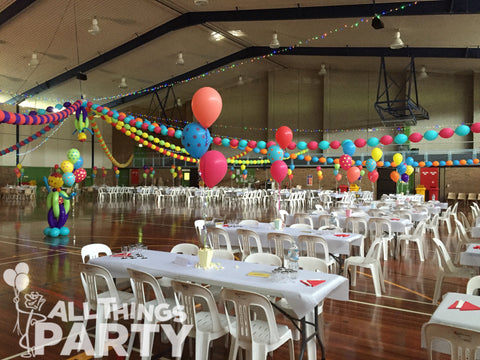 Carnival Themed Party Balloons All Things Party Kiama Leisure Centre