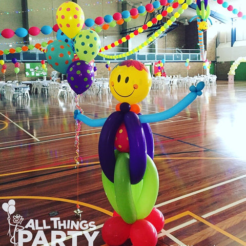 Clown Balloon Carnival Theme All Things Party