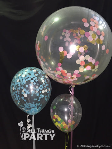 Confetti Balloon Centrepieces All Things Party