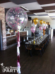 Giant Confetti Balloon with Tassels All Things Party