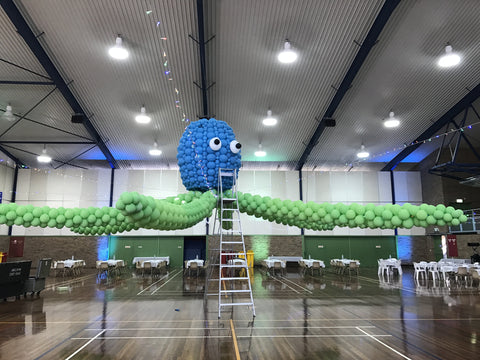 Giant Balloon Octopus