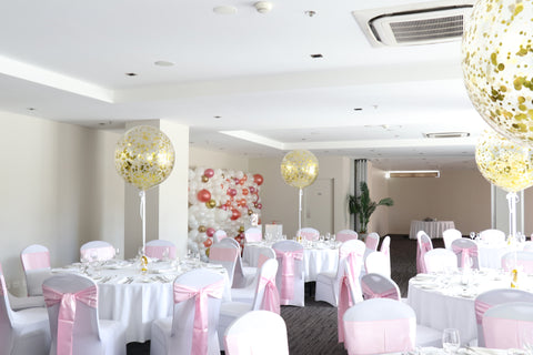Giant Gold Confetti Balloons Sage Hotel Wollongong